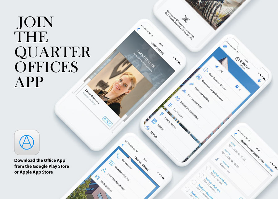 Launch of the Quarter Offices app